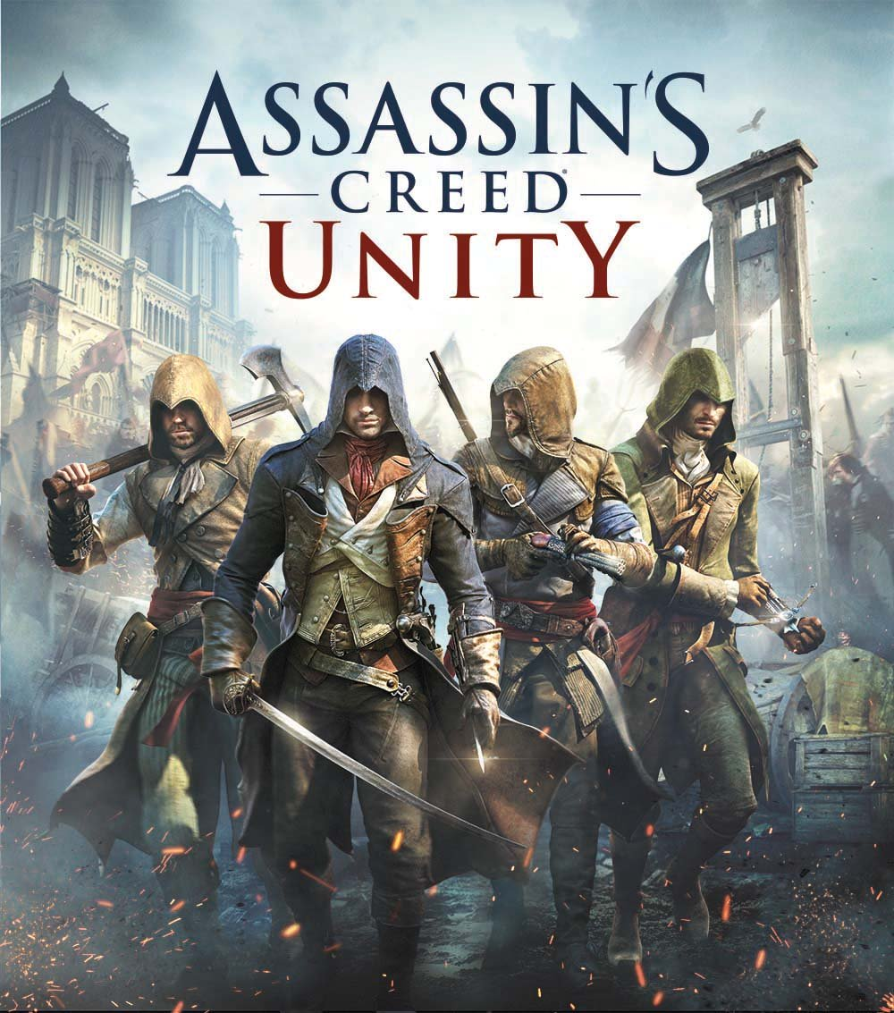Assassin's Creed Unity Cover