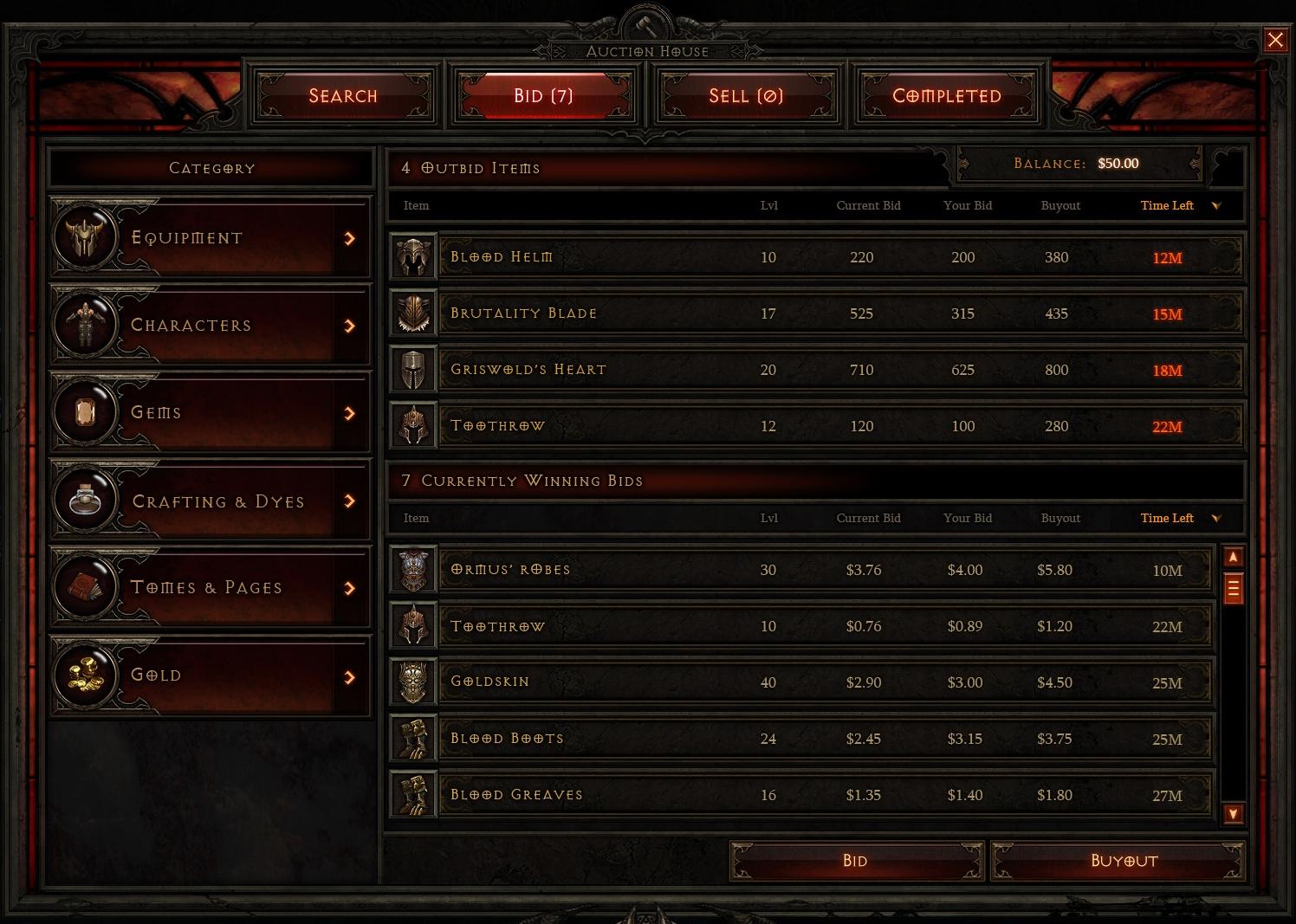 Diablo 3 AH