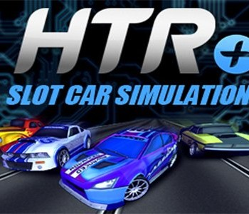 HTR Slot Car Simulation Banner