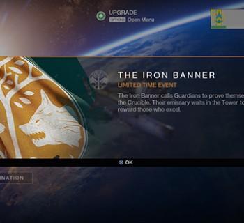 Iron banner Destiny