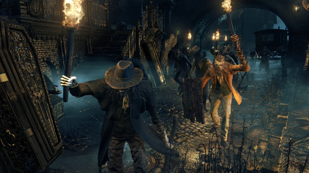 Bloodborne PS4 screenshot 04 gamescom 2014