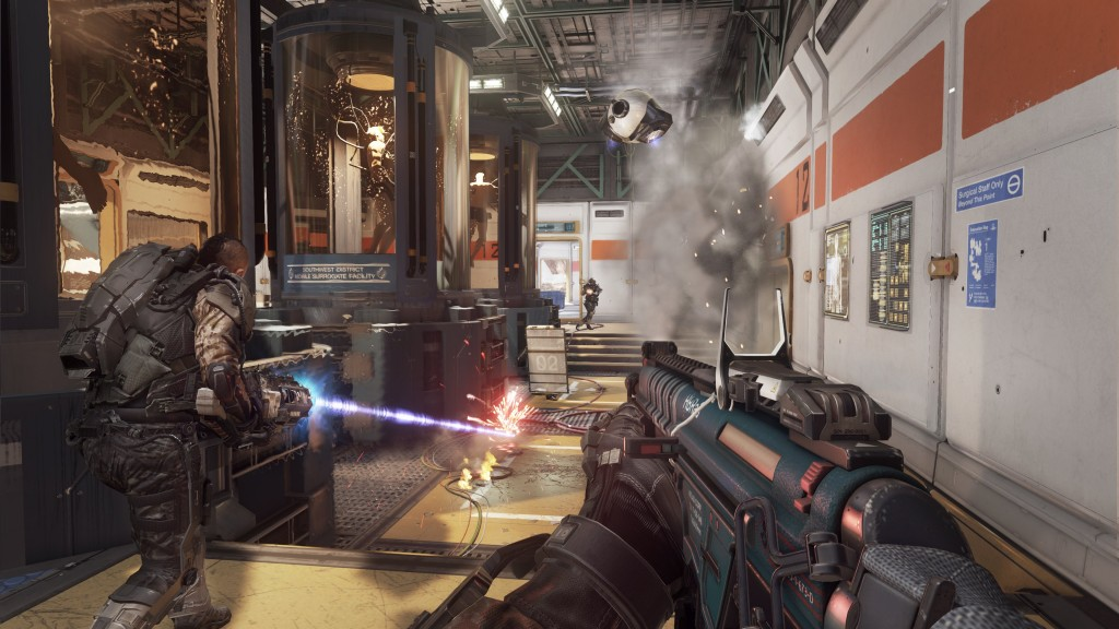 Call of Duty: Advanced Warfare Multiplayer Biolab EM1