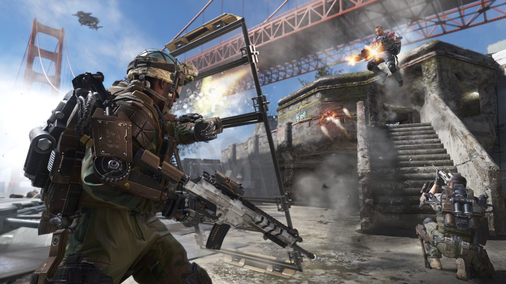 Call of Duty: Advanced Warfare Multiplayer Defender Under the Bridge