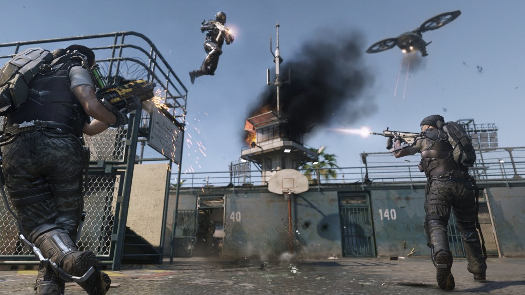 Call of Duty: Advanced Warfare Multiplayer Slam Dunk