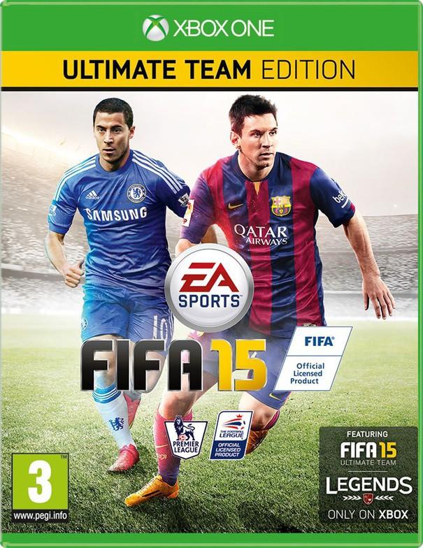 FIFA 15 cover UK