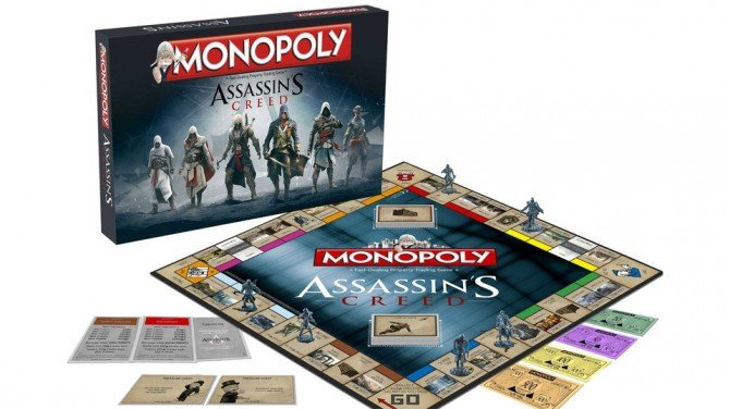 Monopoly Assassin's Creed 01