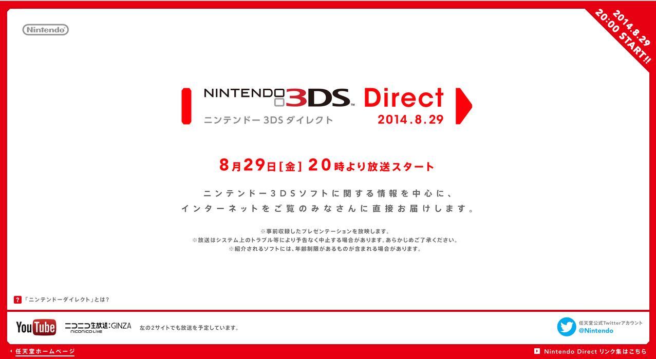 Nintendo Direct 29-08