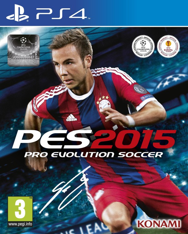 PES 2015 Cover ufficiale