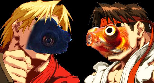 street fighter ii pesci