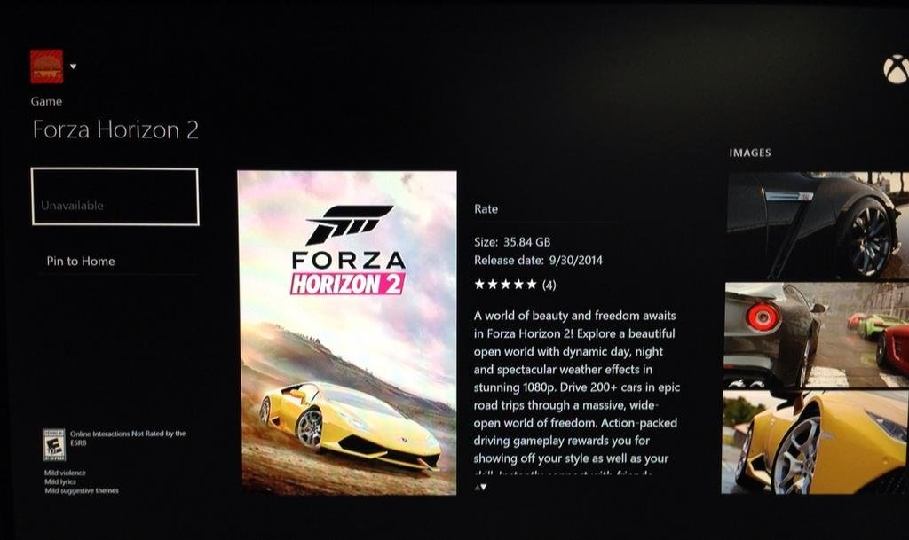 Forza-Horizon-2-peso-xbox-one