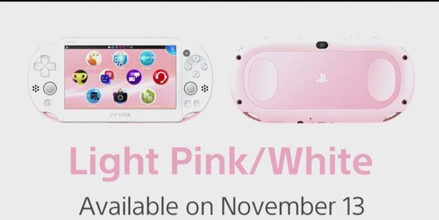 PS Vita pink