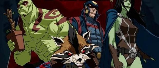 Guardiani della galassia in arrivo una serie animata