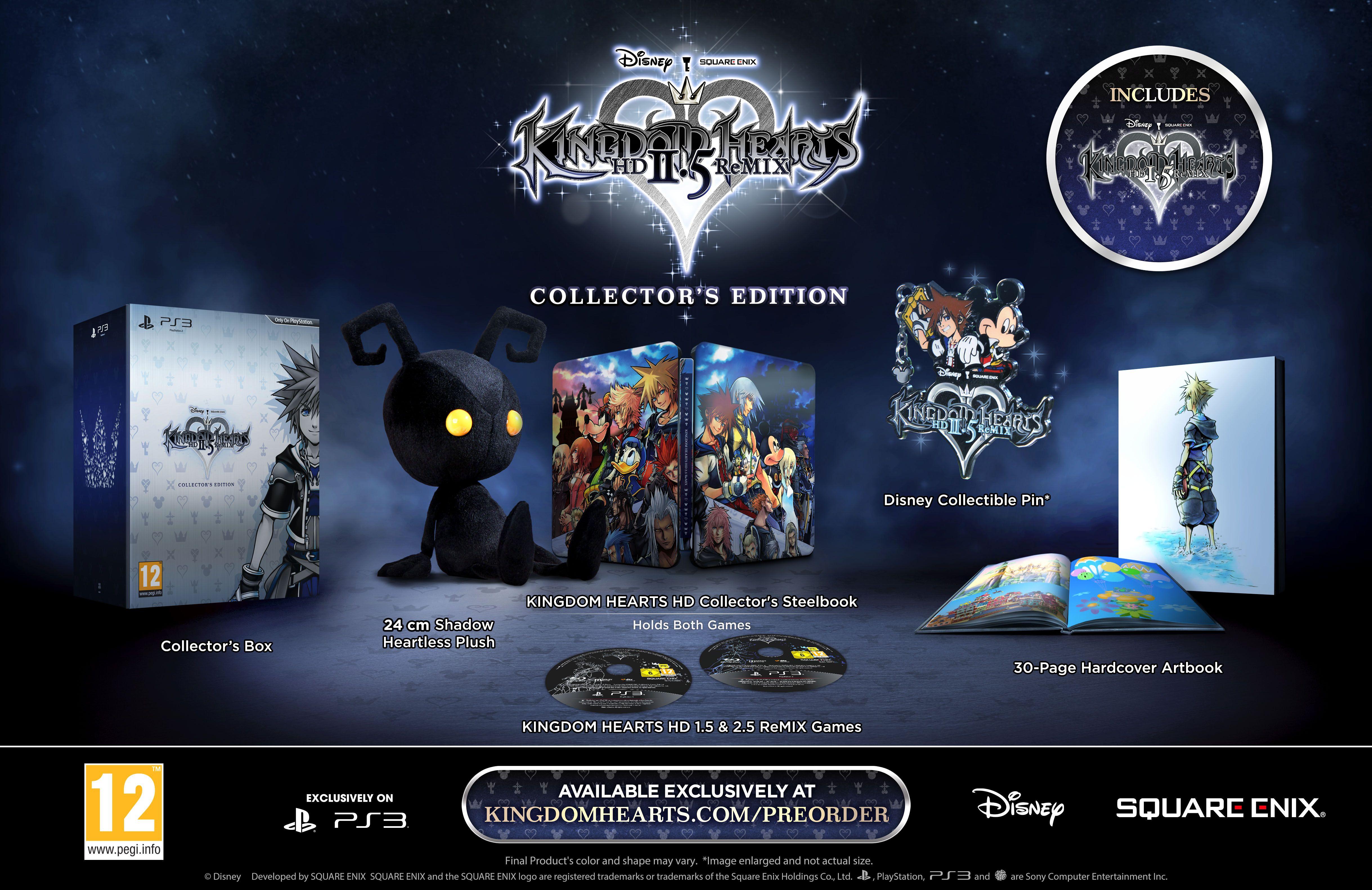 Kingdom Hearts HD 2.5 Remix CE 01