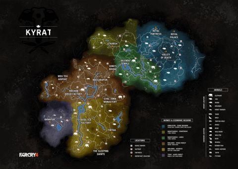 Mappa Far Cry 4