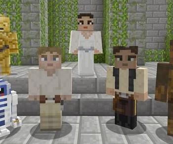 Minecraft Star Wars DLC banner 01