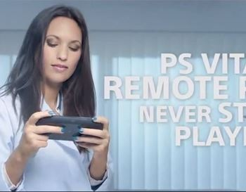 PS Vita sexy video