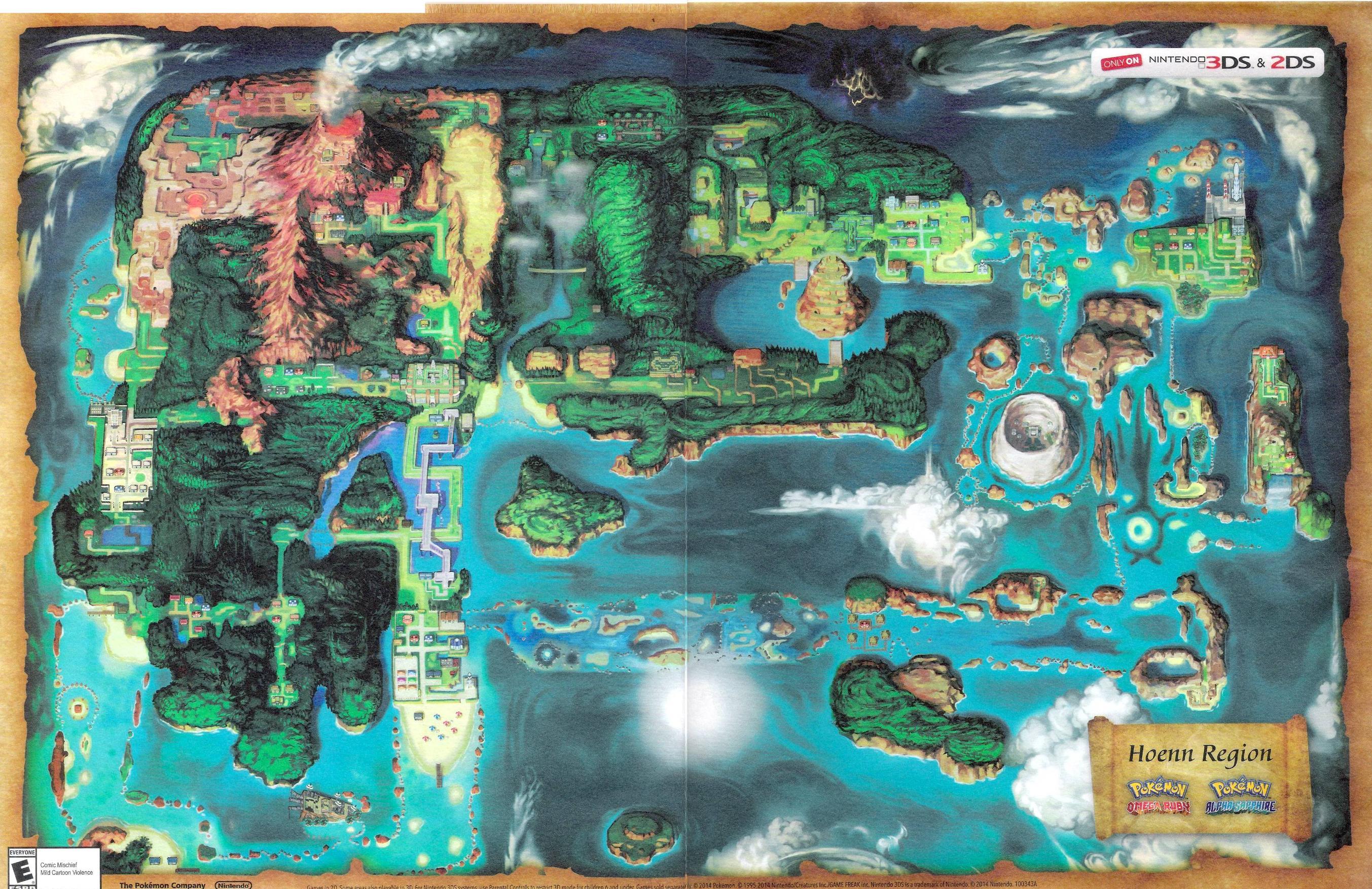 Pokémon Rubino Omega_Zaffiro Alpha_01