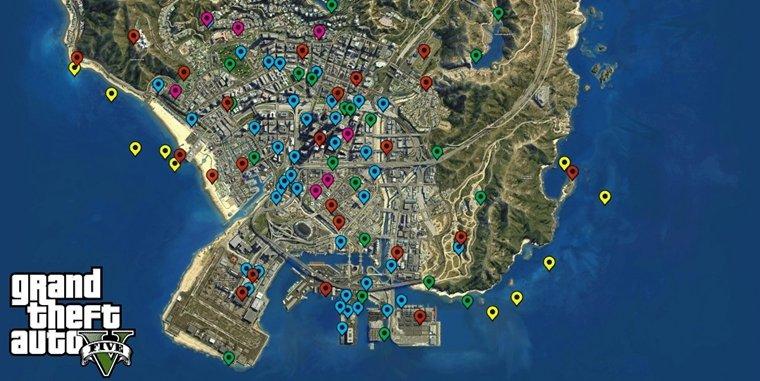 Gta V Elicottero Mappa : Grand theft auto curiosità sulla saga firmata rockstar