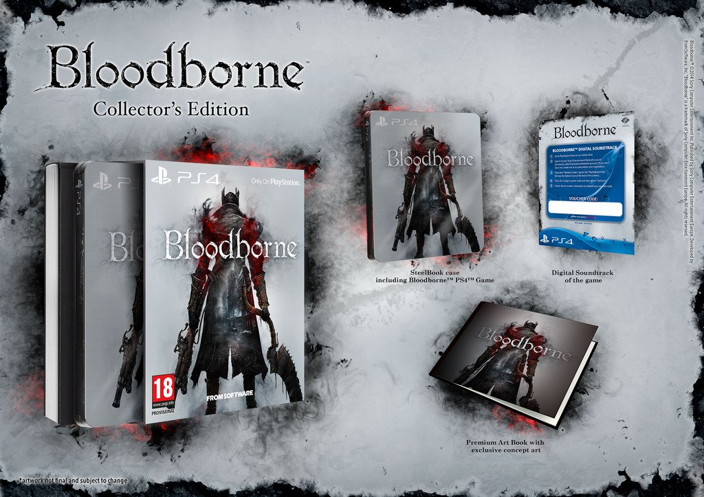 Bloodborne Collector's Edition PS