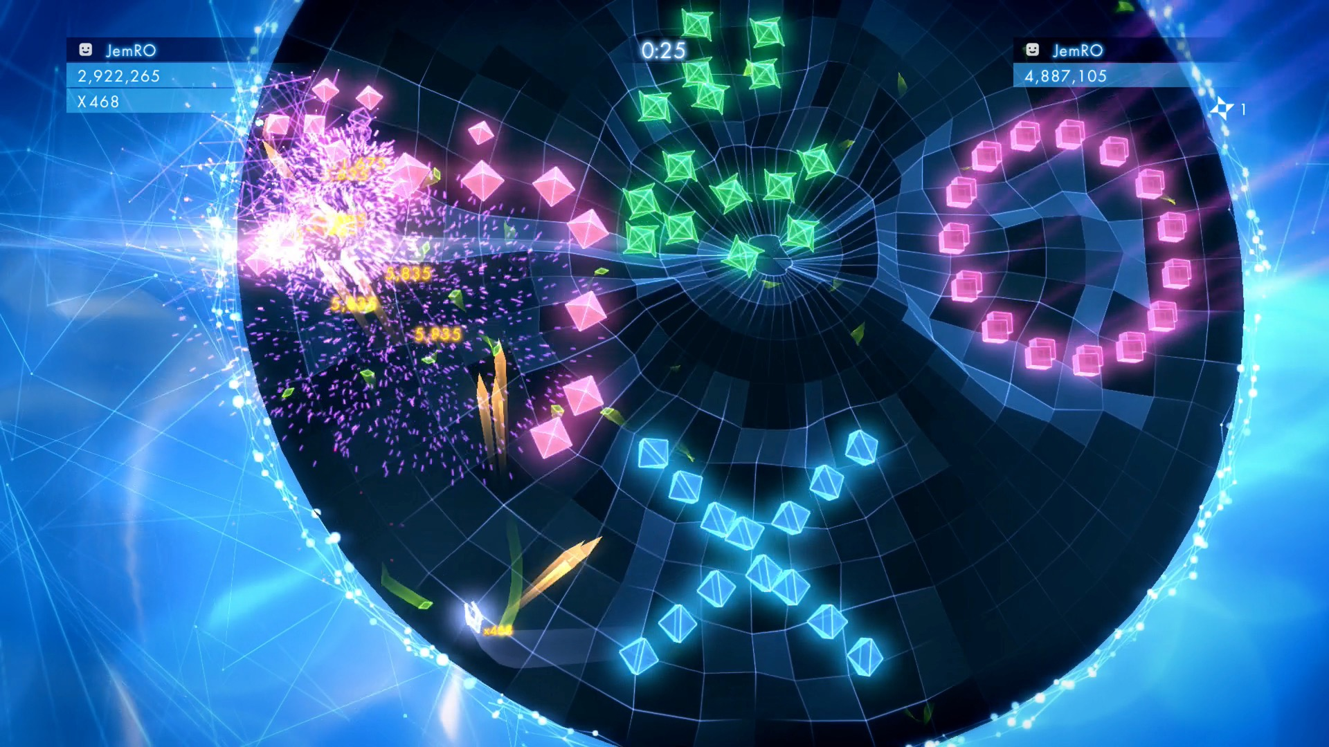 Geometry Wars 3 Dimensions 04