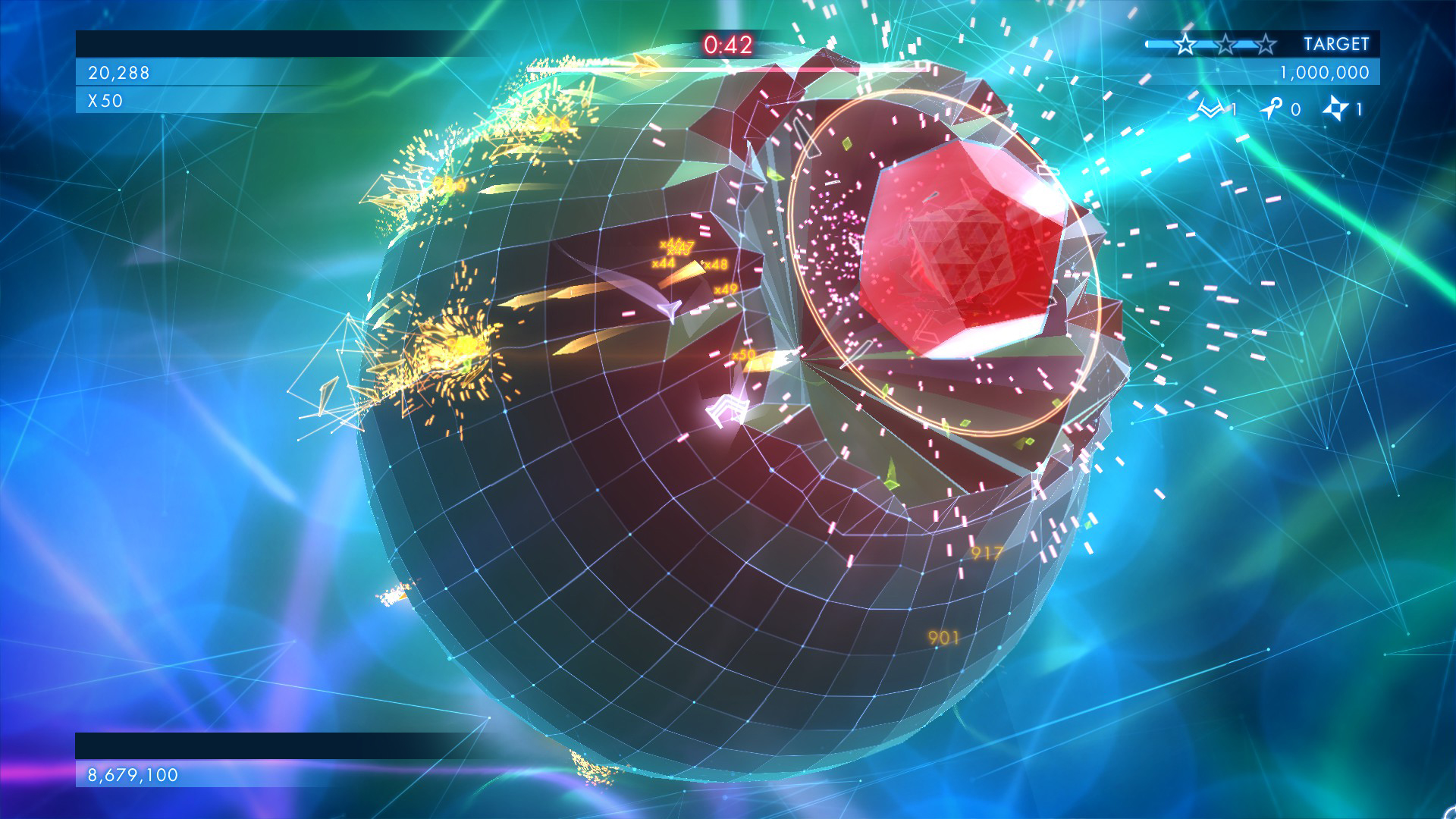 Geometry Wars 3 Dimensions 07