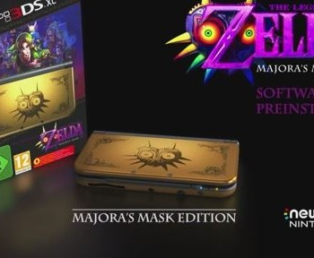 Majora Mask New 3Ds console