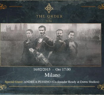 Evento the order1886 GAMETIME