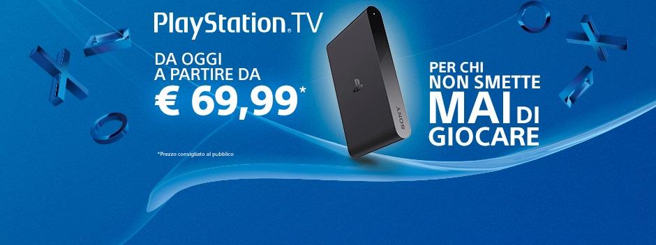 PS TV taglio prezzo