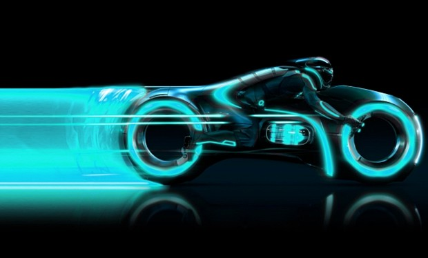 TRON legacy moto light cycle - cover