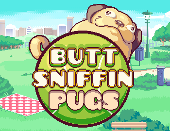 butt-sniffin-pugs