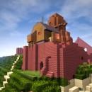 Minecraft Laputa Studio Ghibli