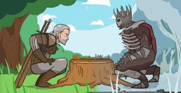 The witcher wild hunt ecco una divertente parodia