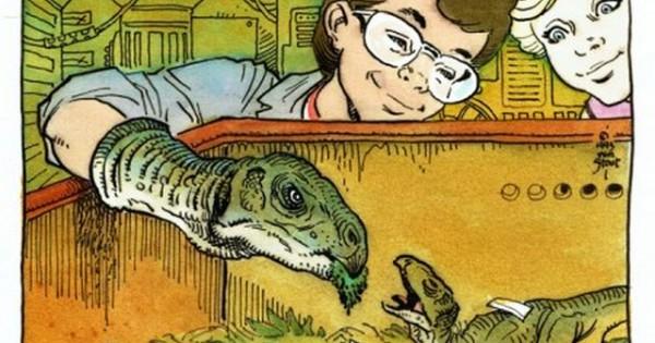 Jurassic park ecco otto concept art della serie animata mai
