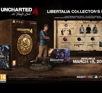 Uncharted 4 Fine di Un Ladro Libertalia Collectors Edition