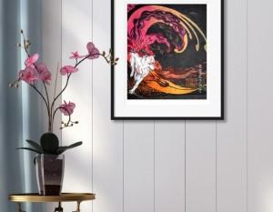 Okami print by Cook & Becker