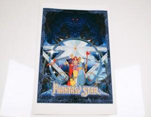 phantasy star print by artist kilian eng