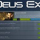 Deus Ex complete collection