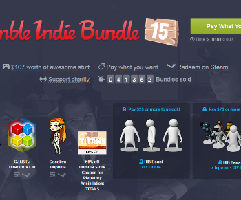 Humble Indie 15 Bundle
