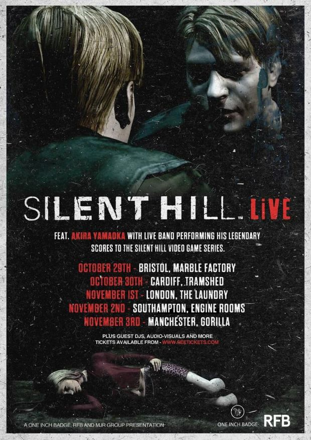 Silent Hill Live locandina