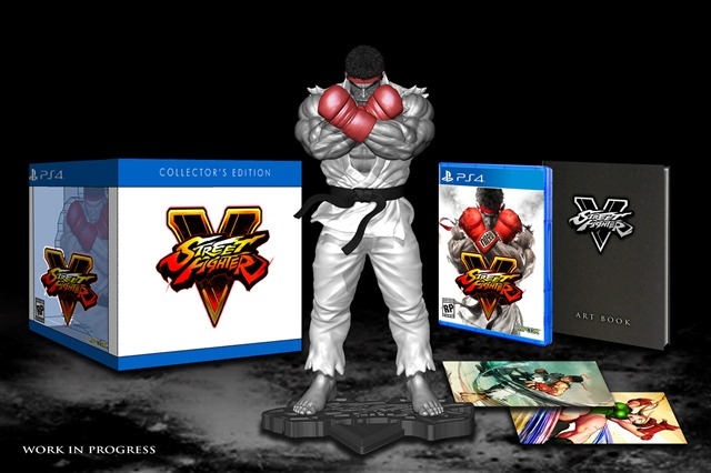 Street Fighter V collectors edition nord america