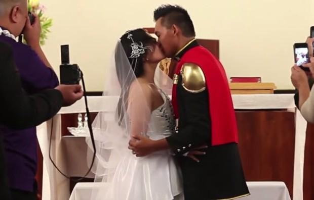 Matrimonio Tema Fantasy : Final fantasy diventa il tema di un vero matrimonio
