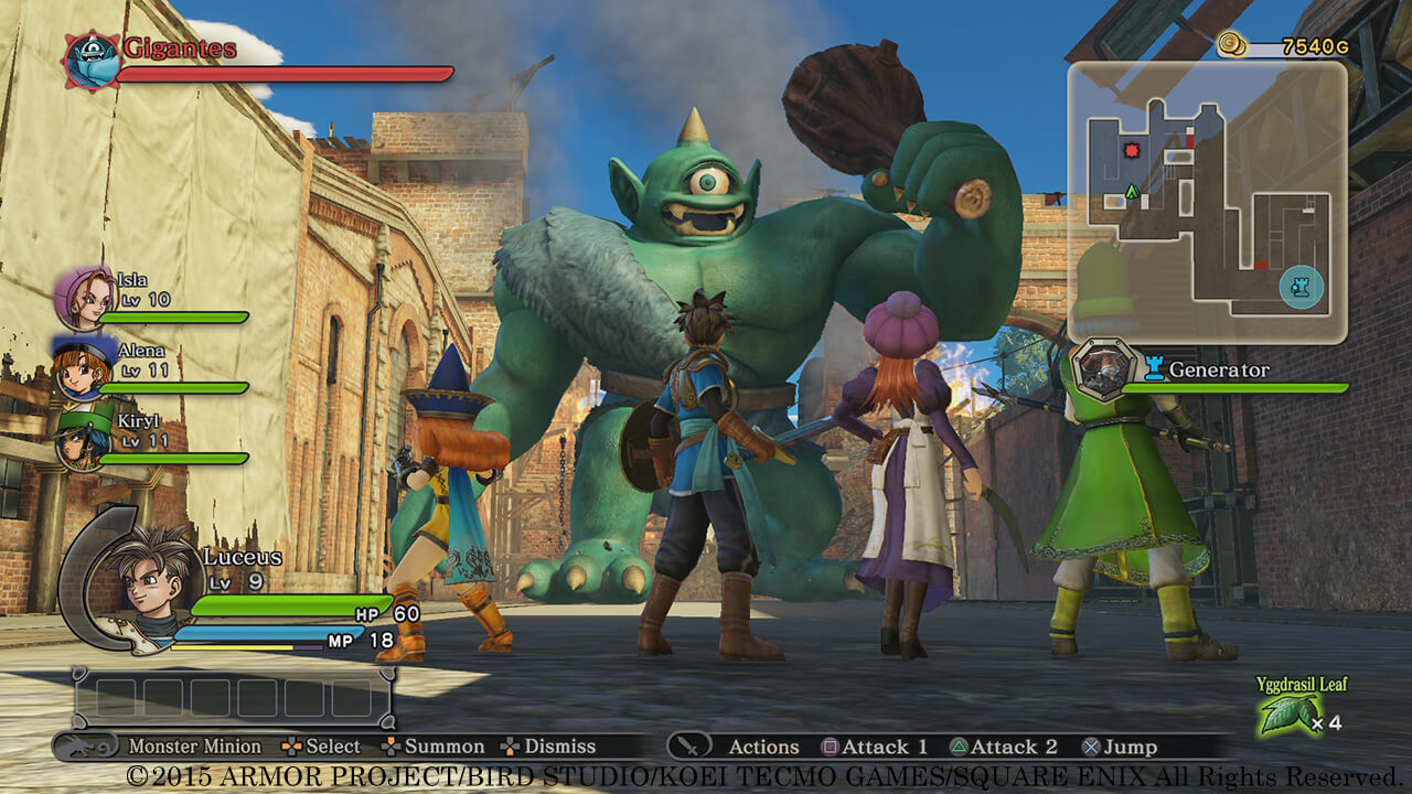 Dragon Quest Heroes9