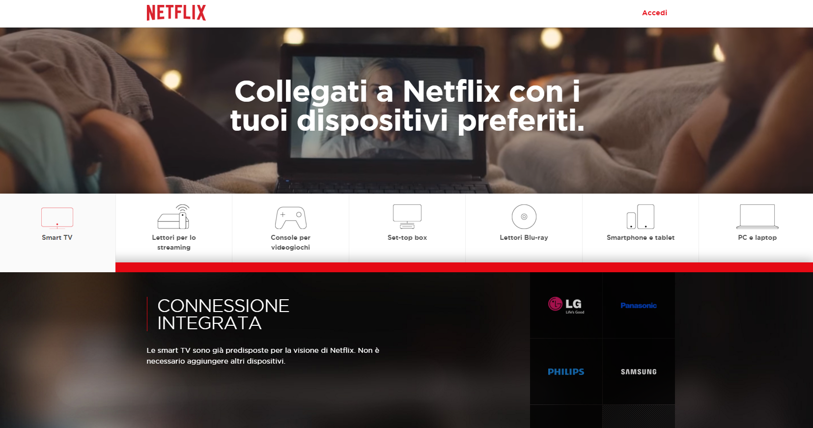 Netflix Dispositivi