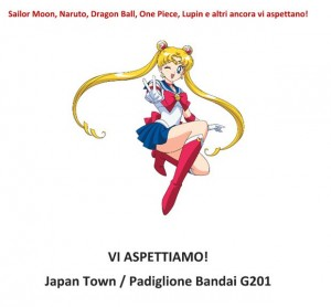 Sailor Moon Lucca 2015