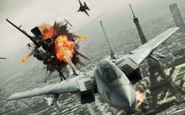 ACE COMBAT 7: SKIES UNKNOWN slitta al 2018