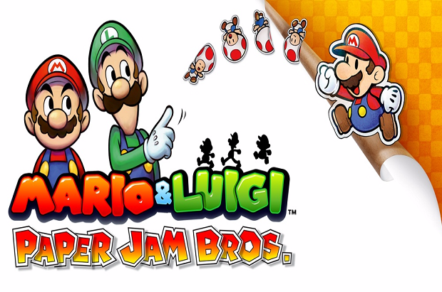 Mario and Luigi Paper Jam Bros Re