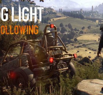Dying Light The Following  Cover