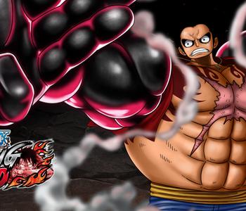 One Piece Burning Blood copertina