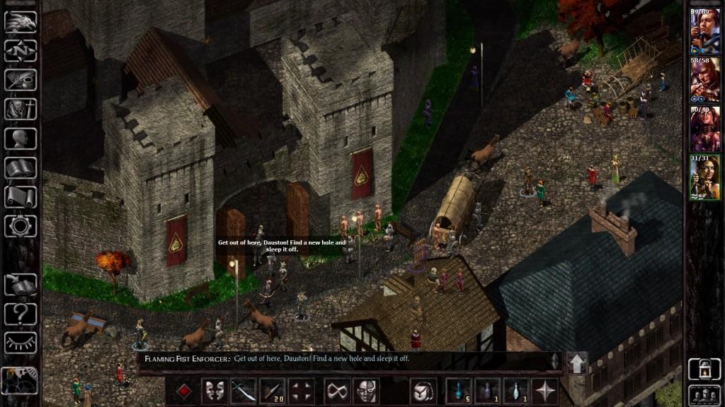 Baldur's Gate Siege - Città