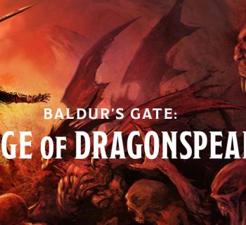 Baldur's Gate Siege - Copertina